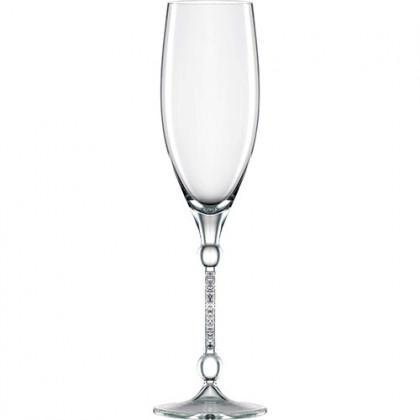 (Set of 2 in Gift Box) Eisch Germany Handmade Ultra Premium Lead Free Crystal 10 Carat Sensis Plus Champagne Glass 280ml